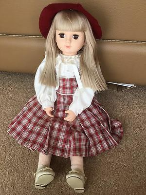 """Rare vintage """"OIKE"""" 21"""" girl doll (made in Japan)"""
