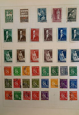 Finland Stamp Collection