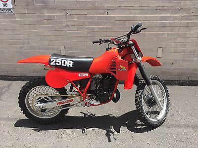1982 Honda CR  1982 HONDA CR 250R FRAME OFF RESTORATION RECONDITIONED TO LIKE NEW NOW $1 N.R.!
