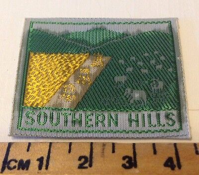Vintage Southern Hills (small) Scout Badge