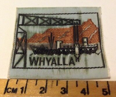 Vintage Whyalla Scout Badge