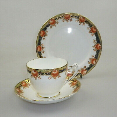 Antique Paragon Star China Trio -  Pattern 3981