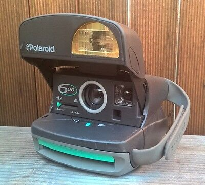 Vintage Polaroid 600 Instant Camera - Working