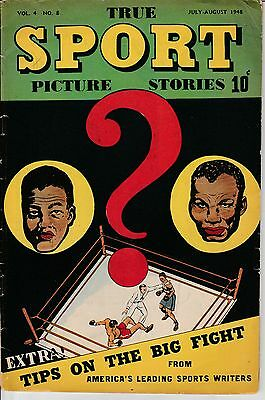 True Sport Picture Stories July August 1948