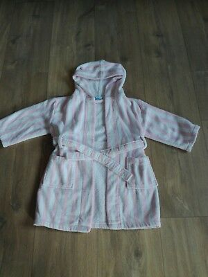 john lewis baby girl dressing gown 12-18