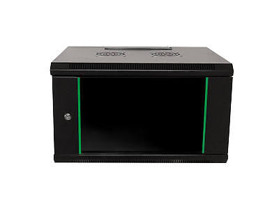 """19"""" Wall-mounted casing Network cabinet Server tower 6HE width x height x depth"""