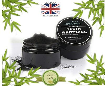 Natural Organic Activated Charcoal Powder Black Teeth Whitening Toothpaste