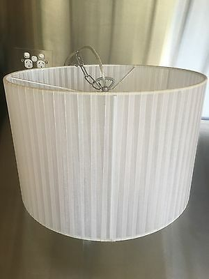 White Lamp shades used