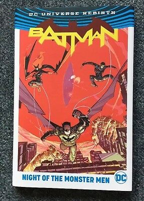 DC Universe Rebirth Batman Night Of The Monster Men Hardcover