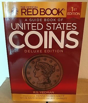 A Guide Book of United States Coins Deluxe Edition by Kenneth Bressett, (Paperba