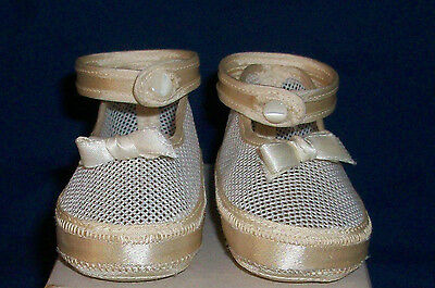 Vintage Original Wool Baby Shoes White With Embroidery Baby Deer Trimfoot Co Md Baby