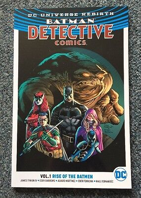 DC Universe Rebirth Batman Detective Comics Vol 1 Rise Of The Batmen