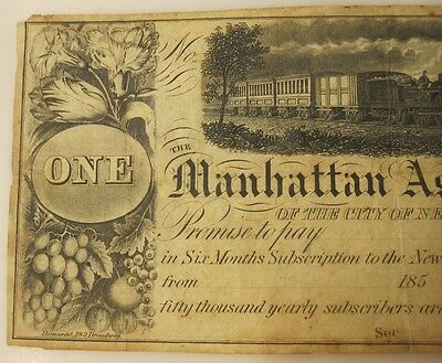 "1850's Manhattan Assoc., ""New York Saturday Courier"", crowdfunding or gambling?"