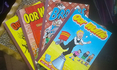 Oor Wullie and Broons Annuals