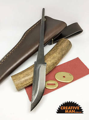 Antler and Carbon Steel Knife making kit