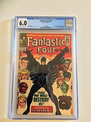 Fantastic Four #46 CGC 6.0 First Black Bolt! Inhumans Show! FREE PRIORITY