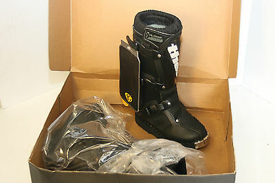Thor Youth Evolution Motorcross Boots - Black / Size 11