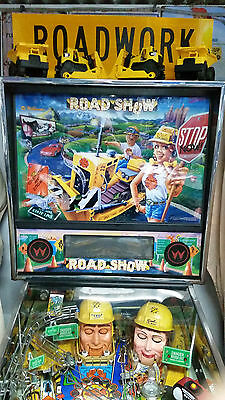 Road Show Pinball Machine With Custom Topper