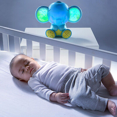 Bright Starts Enchanting Elephant Soother-Night Light