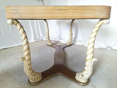Unusual Italian Art Deco Dining Table by Pier Luigi Colli
