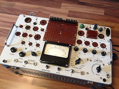 Kalibr L1-3 L3-3 Russian Made Vintage Vacuum Tube Tester European Tube Card Disc
