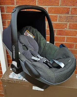 Maxi Cosi Pebble Baby Car Seat SPARKLING GREY - WELL USED - CHEAP