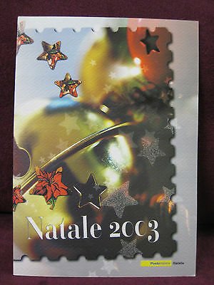 Stamps Folder Cartellina Francobolli Special Series Merry Christmas Natale 2003