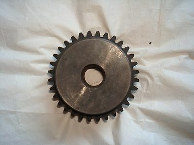 "Martin TS832 Spur Gear 8 Pitch 1"" Bore 4.25"" OD 1.500"" Face Width 32 Teeth"
