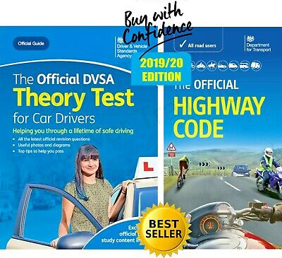 Driving Theory Test Car Drivers Book 2019 & Latest Highway Code Book Valid 2019x