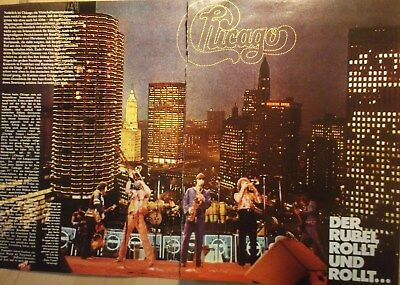 2 german clipping CHICAGO LIVE ROCK POP BOY BAND BOYS GROUP N. SHIRTLESS VINTAGE