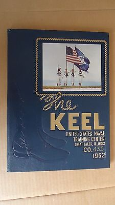 Keel US Naval Training Center Yearbook Great Lakes Illinois 1952 Co. 435 Navy