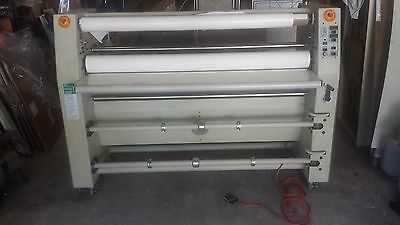 """GBC Falcon 60 Industrial Wide Format Cold Laminator 1"""" mount 62"""" W Vehicle Wrap"""