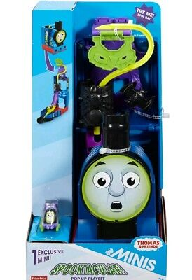Fisher-Price Thomas the Train MINIS Spooktacular Pop-Up Playset by Fisher-Price