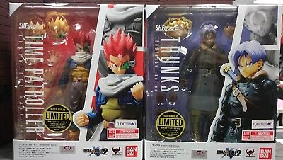 LOT S.H. Figuarts Dragonball Z TRUNKS & HERO TIME PATROLLER XENOVERSE Bandai