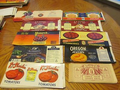 1000 Vintage Can Labels;20 Different Types,50 Of Each,total 1000 Labels;lot # 12