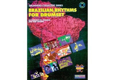 Alfred Brazilian Rhythms for Drumset (Book/CD)