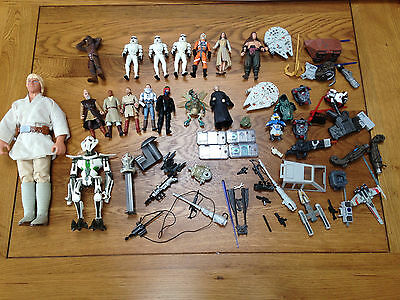 Star Wars Figures and Accessories Huge Assorted Bundle Job Lot