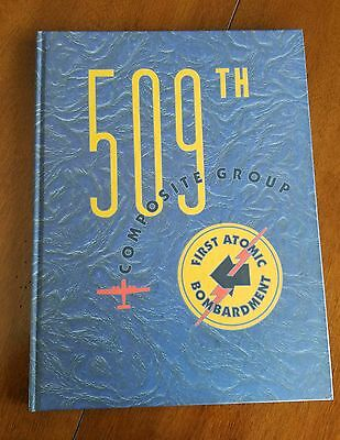 509th Composite Group Pictorial Album 104 signatures Tibbets Sweeney ENOLA GAY