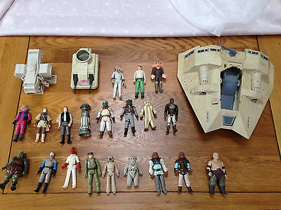 Star Wars Vintage Figures & Vehicle Job Lot Bundle