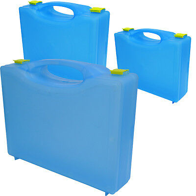 Qualicare Premier Blue Catering Empty Medical First Aid Kit Box, Various Sizes