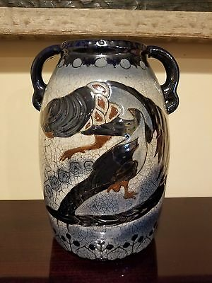 Antique Amphora Austria Campina Vase - Imperial Amphora / Turn - Astonishing!!!