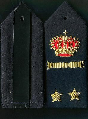 Italian Officers 1st Lt Rank Boards of the Air Force WW2