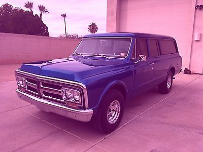 1972 GMC Suburban  1972 GMC Suburban - Arizona vehicle with working front/rear AC