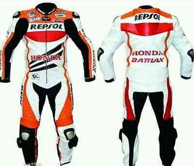 HONDA REPSOL Motorbike leather MOTOGP motorcycle leather riding suits ALL SIZES