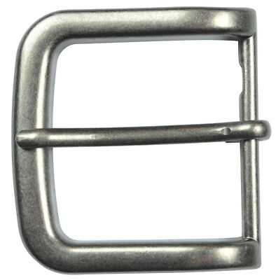 "Silver Finish Pin Buckle Fits 1-1/2"" Belts - The Belt Shoppe"