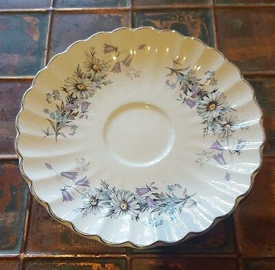 VINTAGE J. & G. MEAKIN ENGLAND SAUCER PLATE,CLASSIC WHITE ,14.5cm
