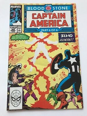 Captain America #362 Early Crossbones Combined Shipping