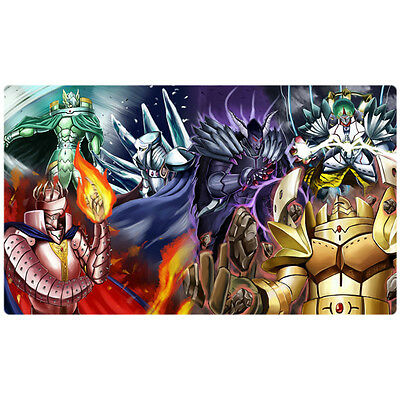 FREE SHIPPING Yugioh Playmat Caius the Shadow Monarch Play Mat Large Mouse Pad