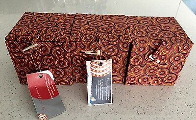 Lovely New Boxes With Indigenous Dingo Spirit Printed Material