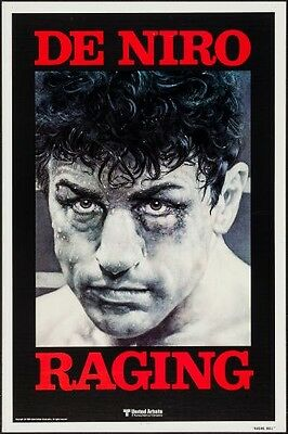 """Raging Bull (United Artists, 1980).  (27"""" X 41"""")  One Sheet Movie Poster"""